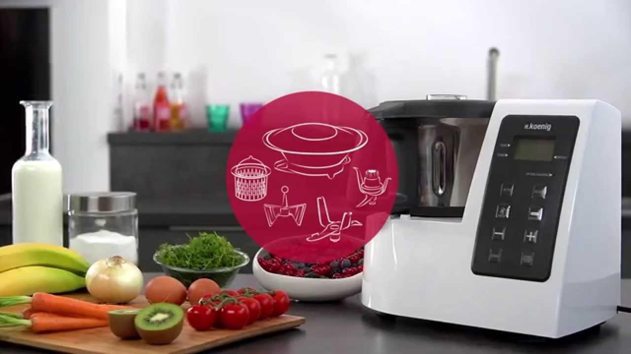 Notre test du robot cuiseur h koenig hkm1028 - Blender chauffant vorwerk ...