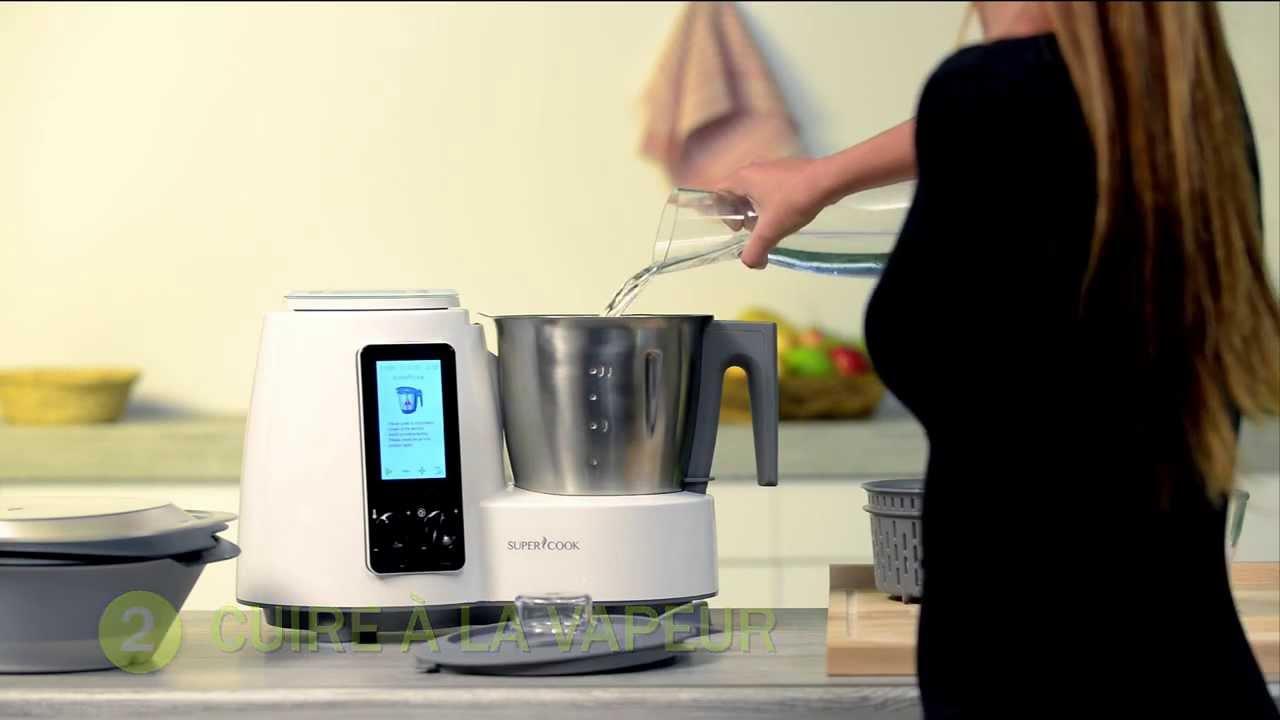 Test complet et avis sur le delimix qc360 de sim o for Robot cuiseur simeo delimix qc360
